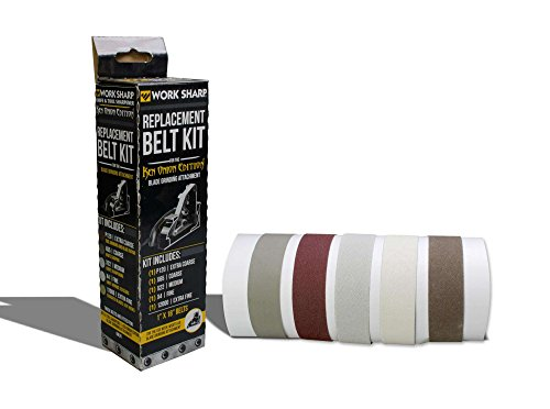 Work Sharp Ken Onion Edition Blade Grinding Attachment Belt Kit Mix 09DX025 Afilador de Cuchilla, Multicolor, Talla única