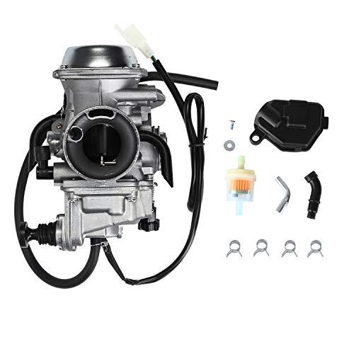 Carburetor Carb with Heater Plug - for 2000-2006 Honda Rancher 350 TRX350 TRX350FE/FM/TE/TM - 2002 2003 2004 Foreman TRX450FE/FM 1997-2004 TRX400FW