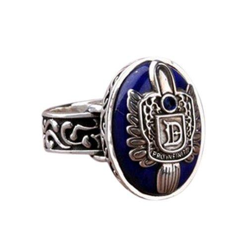 DAY.LIN Ringe Für Damen Ring Damen Der Herr Der Ringe Vampire Diaries Salvatore Damon Stefan Finger Familienwappen Ring