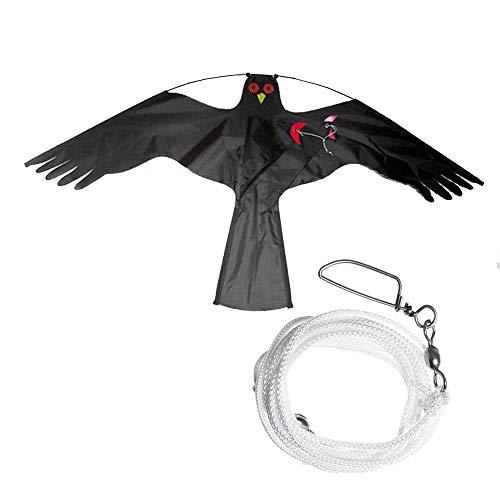 Lecimo Flying Hawk Kite Scarer Suit per Garden Spaventapasseri Yard Home  Decor Beauty Fly