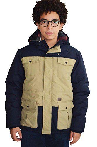 Billabong Kids Jacke /Winterjacke Dakota navy / beige 16 (176)