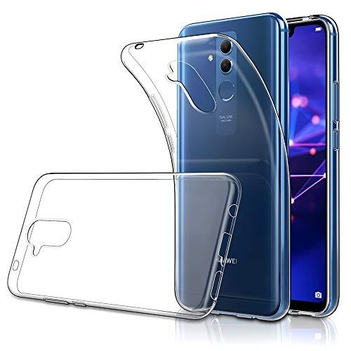 """Simpeak Coque Compatible pour Huawei Mate 20 Lite Housse (6,3""""), Etui de Protection Compatible pour Mate 20 Lite Coque, Anti-Slip, Résistant aux Rayures - Transparent"""