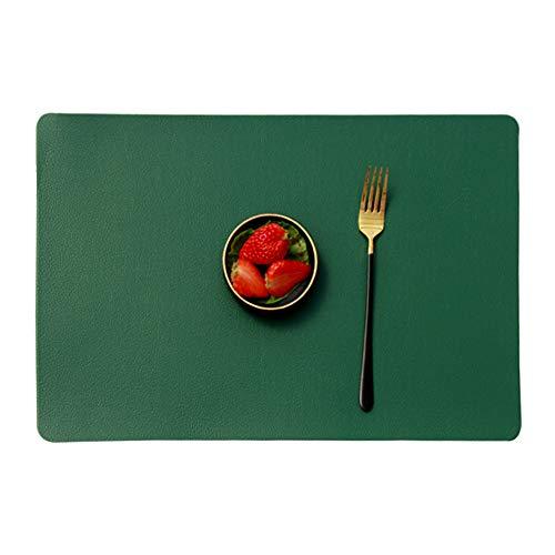 MANGATA Conjunto de 4 manteles Individuales de Antideslizante Resistente al Calor para la Mesa de Comedor de Cocina