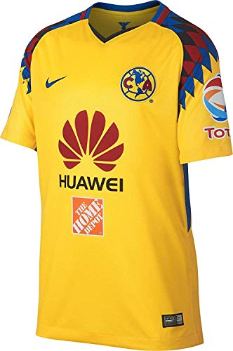 NIKE Youth Club America 2018 Stadium Third Jersey- Yellow YM