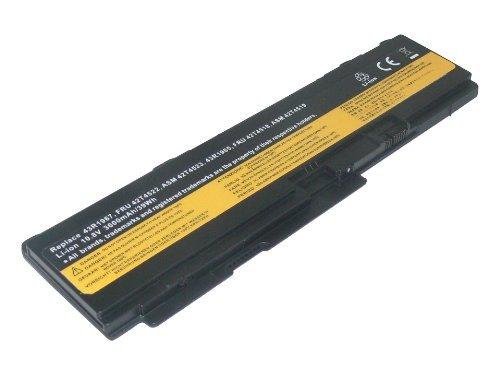 PowerSmart® 10,80V 3600mAh Ersatz Akku für Lenovo ThinkPad X301 2774, ThinkPad X301 2776, ThinkPad X301 2777, ThinkPad X301 2778, ThinkPad X301 2779, ThinkPad X301 4057, ThinkPad X301 4182