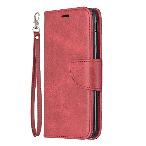 Great Price! Lomogo Samsung Galaxy J6 / Galaxy On6 Case Leather Wallet Case with Kickstand Card Hold...