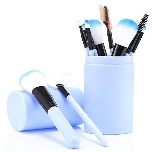 Outils de maquillage ensemble complet de brosses 12 ensembles de poudre de fard à paupières brosse à fards à paupières, C