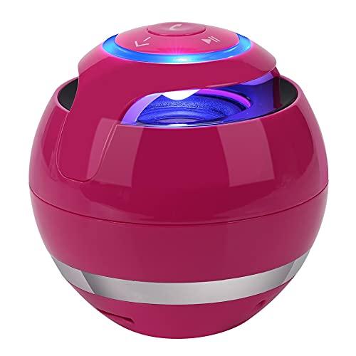 Small Stone UFO Bluetooth-Lautsprecher, LED-Licht, 7 Farben, Subwoofer,...
