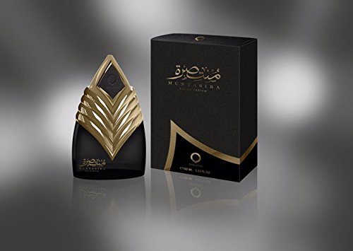 Al Haramain Perfumes Orientica Muntasira Dhahab EDP Spray para Hombres, 100 ml