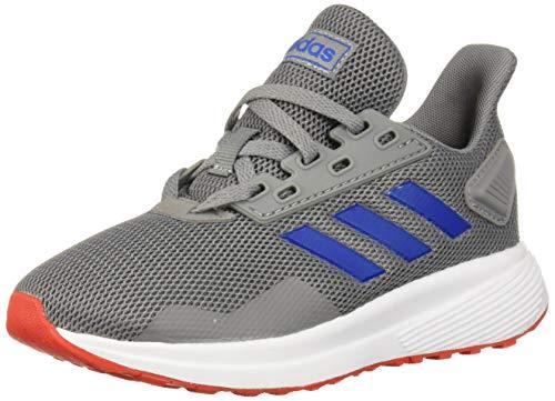 adidas Baby Unisex's Duramo 9 I Running Shoe, Grey/Blue/Red, 3K