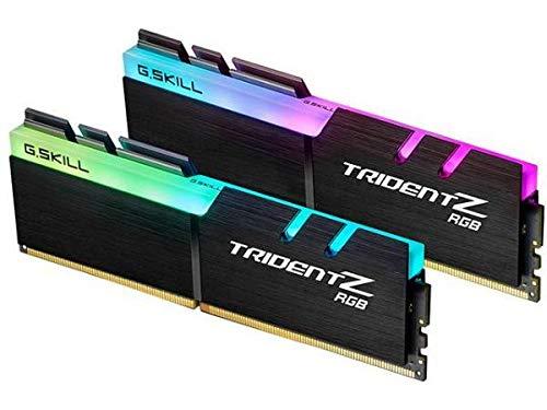 Memória RAM G.SKILL Trident Z RGB 32GB (2x16GB) DDR4-3000 CL16 - Modelo F4-3000C16D-32GTZR