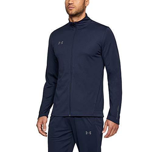 Under Armour Challenger II Knit Warm-Up Ropa De Deporte De Hombre, Chándal Para Hombre Completo Hombre Azul (Midnight Navy/Graphite 410) S