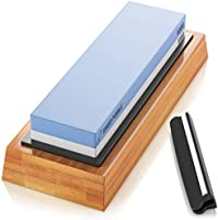 Sharp Pebble Premium Whetstone Knife Sharpening Stone 2 Side Grit 1000/6000 Waterstone- Whetstone Knife Sharpener-...