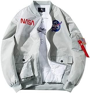 OTL Winter New Men's Cotton Suit NASA Joint Pilot Stand Collar Jacket Tooling