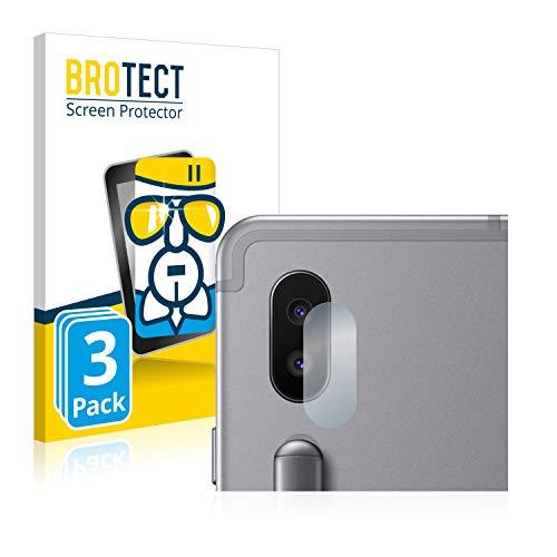 BROTECT Panzerglas Schutzfolie kompatibel mit Samsung Galaxy Tab S6 WiFi (Kamera) (3 Stück) - AirGlass, 9H Härte, Anti-Fingerprint, HD-Clear