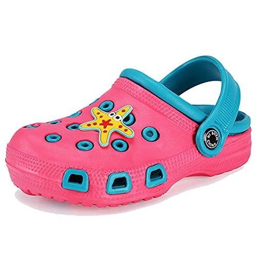 Mlcjva 2021 Sandalias de Verano Sandalias de niños Zapatos de niños Dibujos Animados Dark Sand Beach Ducha Zapatos para niños