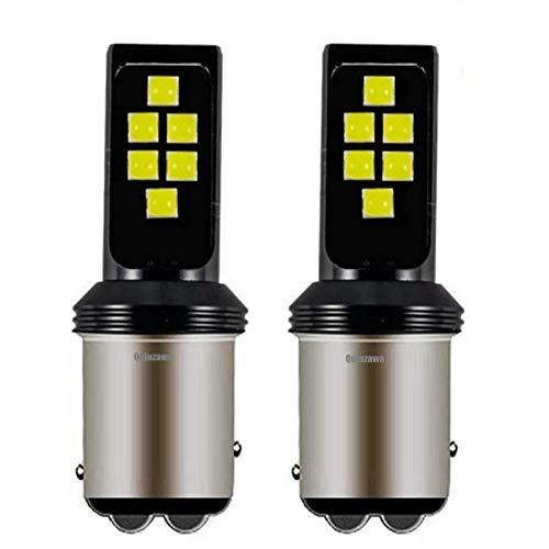 Glühbirne autolampen 2 STÜCKE 1157 Bay15D P21 / 5W 3535 Chip LED Auto Bremslicht Schwanzlampe Auto Umdrehungslampen Tagtime Funktionelle Sluttisch Weiß Rot Gelb led glühbirnen (Emitting Color : Red)