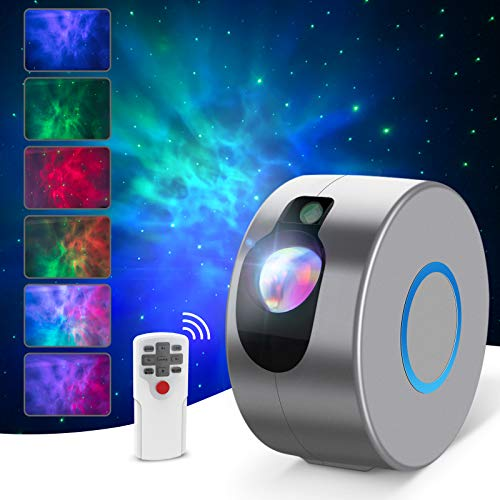 Star Projector, Night Light Projector with Led Nebula Cloud, Galaxy Projector with Remote Control for Kids Baby Adults Bedroom Party Game Rooms Home Theatre and Night Light Ambience [Energy Class A+]