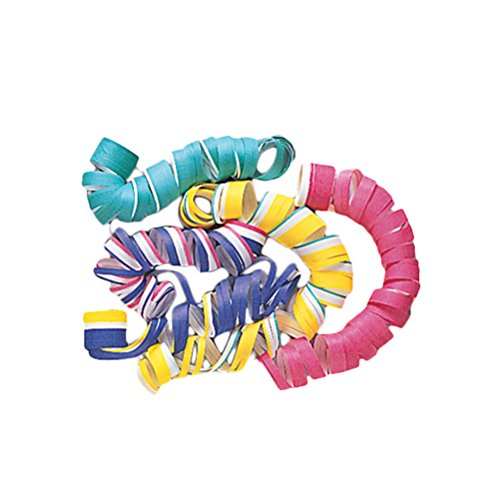 Unique Party-40 Rollos de Serpentina, Multicolor (Partygram 9010) , color/modelo surtido