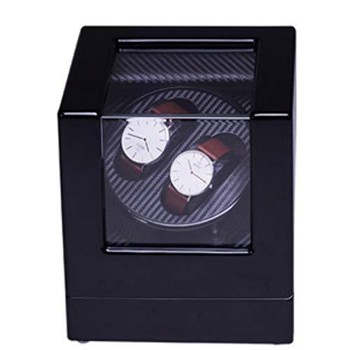 Decoración de muebles Caja automática de enrollador de reloj Devanadera automática de reloj Dispositivo de reloj de movimiento Reloj mecánico automático Caja de cadena superior Mesa giratoria Brazo