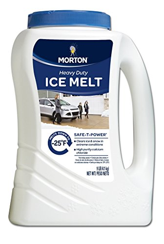 Morton Safe-T-Power Snow & Ice Melt, 9 Pound Jug -  7877