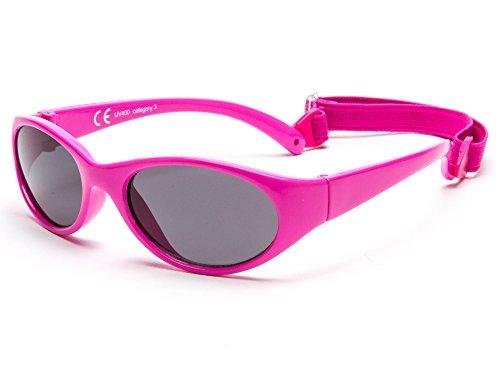 Kiddus Gafas de sol para niña niño entre 2 y 6 años, hecho de goma TOTALMENTE FLEXIBLES, 100% protección rayos UVA y UVB, seguras, confortables y muy resistentes, ideal regalo