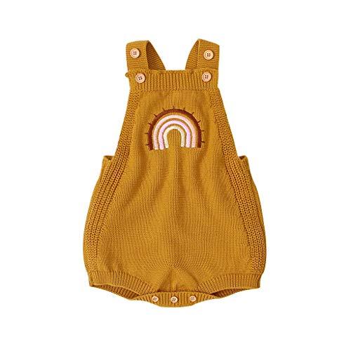 Weilov Infant Bébé Filles Garçons Imprimer Combinaison Combi-short Vêtements décontractés Combinaison chaude Combinaison-short confortable