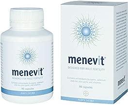 Menevit Vitamins Minerals 90 Capsules - Designed for Male Fertility (Australia Import)