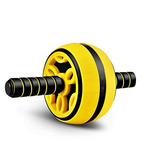 YDHWT Bauchmuskeln Wheel - Ab Wheel Roller, Roller Core Trainings Bauchtraining Ausrüstung Sport und Fitness Rad zu Hause mit dem Knie