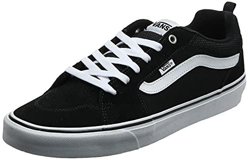 Vans Herren Filmore Suede/Canvas Sneaker, Schwarz (Suede/Canvas), 42.5 EU