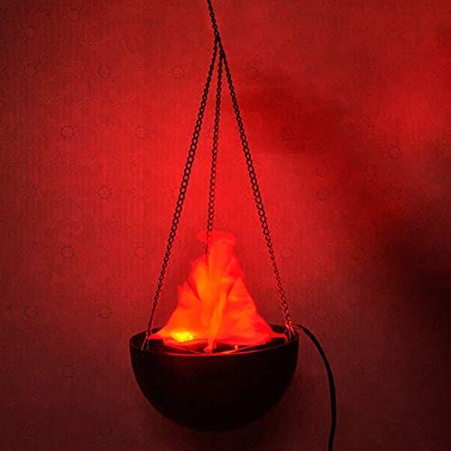 lámpara con luz efecto fuego fabricante HALLOWEEN