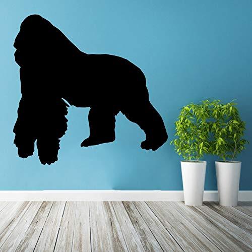 hetingyue muursticker vinyl sticker gorilla verwijderbare slaapkamer huis woonkamer decoratie behang decoratie