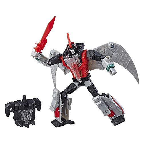Transformers Power of The Primes Deluxe Swoop (Red) Exclusive