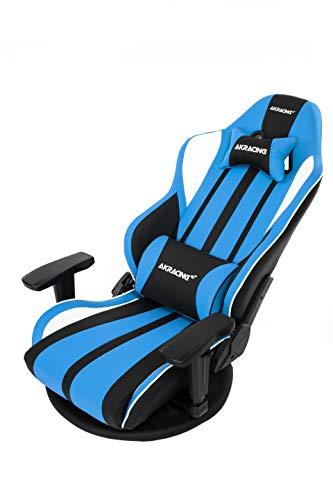 AKRacingゲーミング座椅子極坐(ぎょくざ)V2青色GyokuzaV2BlueAKR-GYOKUZA/V2-BLUE