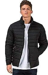 Ben Martin Mens Quilted Jacket-(BMW-JKT-FS-18012-BLK)