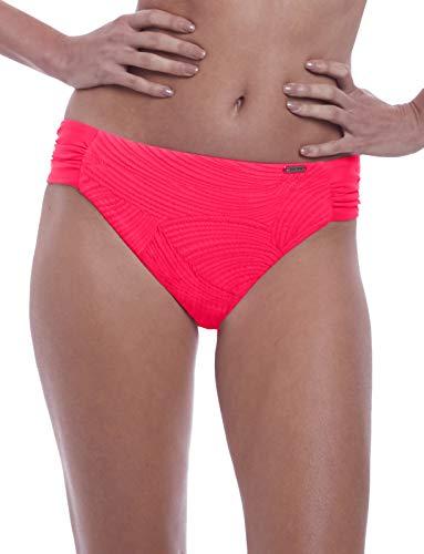 Fantasie Ottawa Mid-Rise Gathered Bikini Bottom, M, Azalea