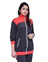 Branded Multicolor Full Sleeve Casual Track Suit for Girls and Womens