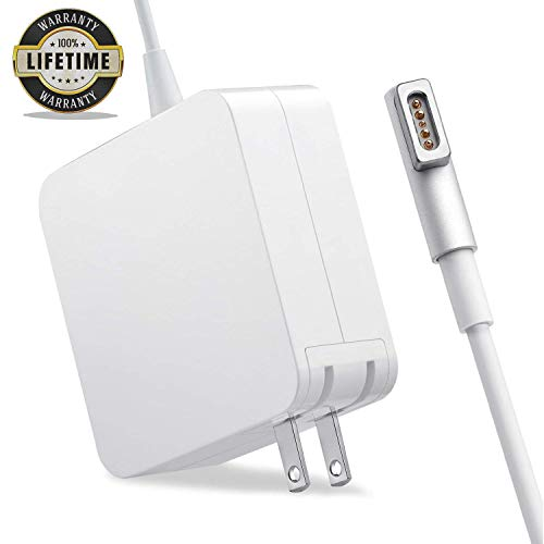 Mac Book Pro Charger, 85W AC Magsafe 1 Power Adapter Magnetic L-Tip Connector Charger for Mac Book Pro 13-inch(Before Mid 2012 Models) (L)