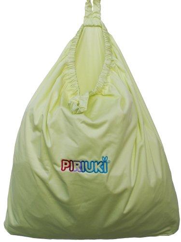 Piriuki 64754 Wasserdichter Beutel mit Reißverschluss für Windeln, grün