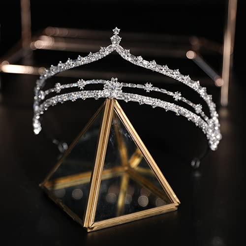 Joyas de aleación de zinc de la corona de la novia DIEVARIO DE BODA TÍTULO SUPER HAREY