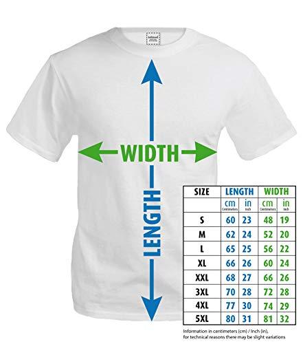 buXsbaum® Herren Unisex Kurzarm T-Shirt bedruckt Frequenz Cycle | Fahrrad bike Drahtesel | M black-red Schwarz - 3