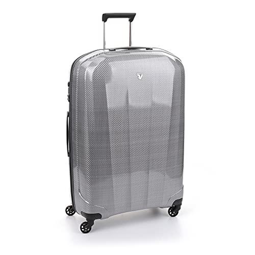 Roncato We-Trendy Maleta Grande Plata, Medida: 80 x 54 x 29 cm, Capacidad: 120 l, Pesas: 3 kg