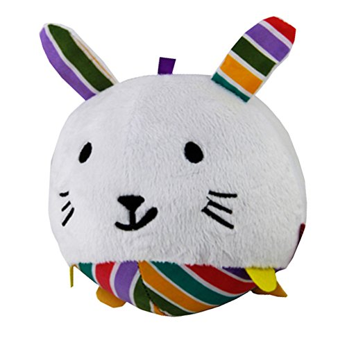 Lovely Animal doux en peluche boule de Bell jouet pour enfant/Catch et sentir jouet, lapin