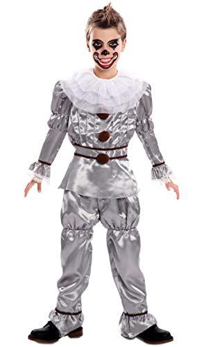 EUROCARNAVALES Disfraz de Payaso del Terror para niño