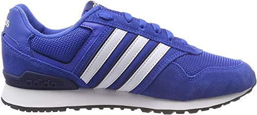 adidas Herren 10K Fitnessschuhe, Blau (Azul/Ftwbla/Azuosc 000), 46 2/3 EU
