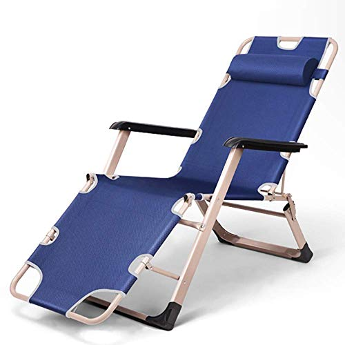 OESFL Patio Lounger Chair Zero Gravity Recliner Chair Zero Gravity Chair, Multi-range Adjustment Outdoor Recliner Durable/Noise-free Camping Table And Chair/For Living Room Lunch Break/Load Weight 661