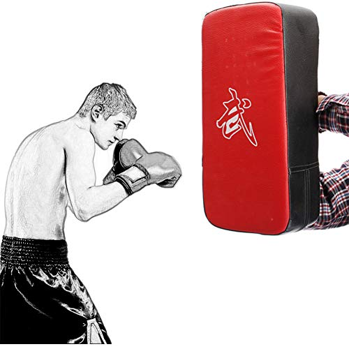 Yunjio Pratzen Kampfsport Handpratzen Kampfkunst Pads Boxen Körper Pad Boxhandschuhe Und Pads Sparring Pads Boxen Zubehör Boxen Geschenke Für Männer red,Freesize
