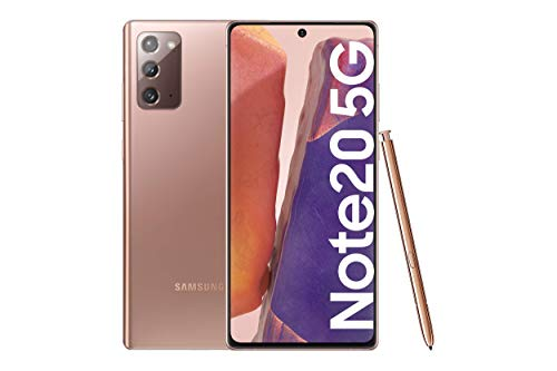 Samsung Galaxy Note20 5G Smartphone Android Libre de 6.7' 256GB Mystic Bronze [Versión española]
