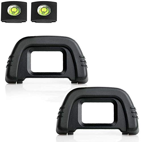 D90 D7000 - Visor Ocular Compatible con cámara DK-21 Nikon D750 D610...