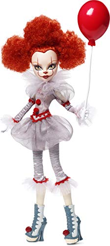 Monster High IT Pennywise Collector Doll (12-inch) Collectible Doll Wearing Clown Costume, with Premium Details and Doll Stand, Gift for Collectors, Multi (GNP22)